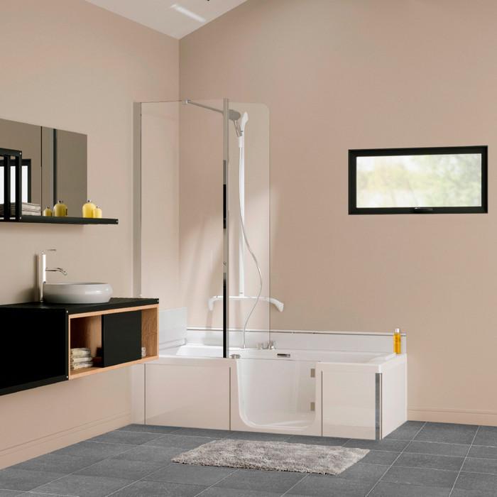 Bekend Het DUO bad is een douche en bad ineen: de 2-in-1 oplossing CO59