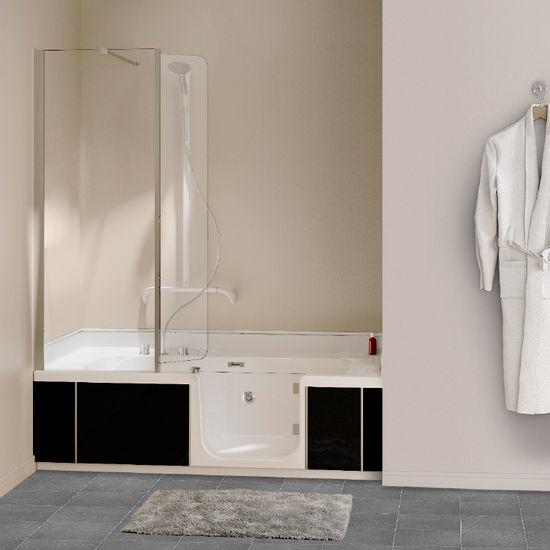 Uitgelezene Het DUO bad is een douche en bad ineen: de 2-in-1 oplossing BR-04